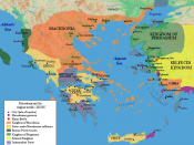 Macedonia and the Aegean world c.200 B.C. This image is made by Raymond Palmer