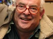 British cartoonist and caricaturist Ralph Steadman (right) in 2006.