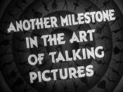 English: Frame from public domain trailer for 1933 Warner Bros. film 42nd Street showing costumed dance during production number
