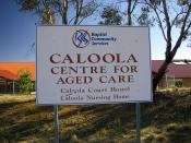 English: Caloola Centre for Aged Care.