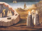St Catherine intercedes for the soul of sister Palmerina // Museo Amedeo Lia, La Spezia