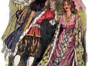 English: : Prince Charming meets Cinderella in a 1912 book of fairy tales. Cleaned up by User:Ihcoyc. Español: : El Príncipe Azul y Cenicienta en un libro de cuentos de 1912