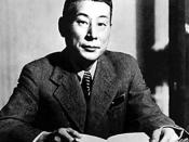 Chiune Sugihara practised conscientious noncompliance in issuing visas to fleeing Jews in Lithuania in 1939