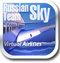 English: The logo of (RST VA) Russian Sky Team Virtual Airlines Русский: Логотип виртульной авиакомпании RST