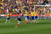 Charlie Adams Strikes at goal