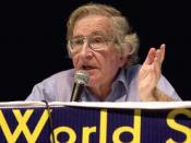 Chomsky at the World Social Forum (Porto Alegre) in 2003