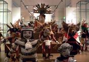 Hopi kachina dolls; North America department, Ethnological Museum, Berlin, Germany