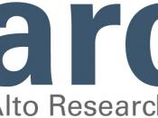 English: Palo Alto Research Center logo.