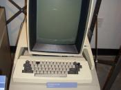 The Xerox Alto workstation, first to use a graphical user interface with mouse and origin of ethernet.