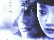 Film poster for Snow Falling on Cedars - Copyright 1999, Universal Pictures