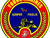 English: United States Marine Corps Young Marines logo. Made with Photoshop.