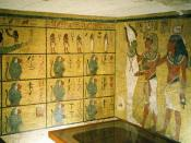 Tomb of Tutankhamun in the Valley of the Kings