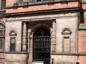 Birmingham and Midland Institute (formerly The Birmingham Library) - closed gate