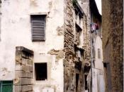 English: Nostradamus's claimed birthplace in the rue Hoche, St-Rémy-de Provence, France