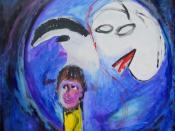 vaderdagtrofee m/v painting of Joep Zander; fatherhood trophy