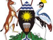 English: Uganda's Coat of arms