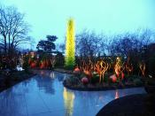 Can you see like a child? Can you see what I want? I wanna run through your wicked garden, heard that's the place to find you, cause I'm alive so alive now, I know the darkness blinds you, Dale Chihuly Glass & Garden, Seattle Center, Washington state, USA