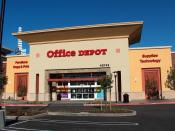 An Office Depot. store in Fremont, California.