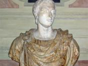 English: Bust of Pompey in the Residenz, Munich Antiquarium. Photograph by J. Williams. (July 19, 2006).