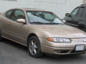 Oldsmobile Alero photographed in College Park, Maryland, USA. Category:Oldsmobile Alero