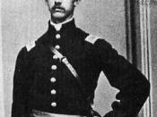 English: Luis F. Emilio as a newly commissioned 2nd Lieutenant in the 54th Massachusetts Volunteer Infantry, April 1863.