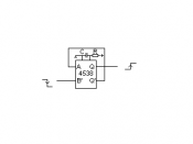 English: Monostable multivibrator