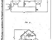 English: UK patent drawing of Eccles-Jordan trigger circuit (flip-flop).