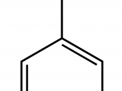 English: molecule of benzaldehyde