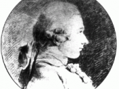 The drawing dates to 1760, when the Sade was nearly 20 years old. It's the only known authentic portrait of the Marquis.