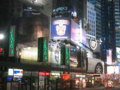The Olive Garden restaurant at Times Square Manhattan, New York City