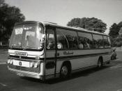 Elmhurst Coaches of Loughton Bedford YRQ Plaxton  ROO 849K  c 1978