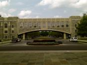Torg Bridge at Virginia Tech