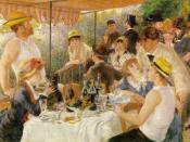 Luncheon of the Boating Party (1881) by Pierre-Auguste Renoir is part of the museum's permanent collection.