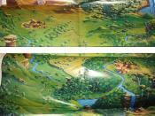 Yowies - playmat - map
