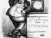 English: Caricature of Boss Tweed by Thomas Nast.