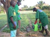WG3 Urine application in agriculture, Burkina Faso