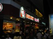 Dunkin' Donut at Siam Square