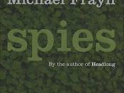 Spies book cover (paperback)
