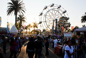 English: Ventura County Fair in Ventura, California.