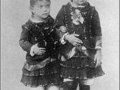 Mary Antin & sister Fetchke as infant children. Mary Antin (June 13, 1881 – May 15, 1949) was an American author and immigration rights activist.