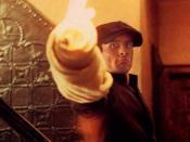 A young Vito (played by Robert De Niro) kills Don Fanucci