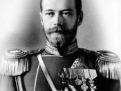 English: Photo taken by A. A. Pasetti of Tsar Nicholas II of Russia, near age 30, at St. Petersburg, Russia, 1898. Français : Photo de Nicolas II de Russie, prise par A. A. Pasetti en 1898, alors que Nicolas II a 30 ans. Русский: Фотография A. A. Pasetti