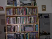 My science fiction shelf