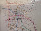 Mexico City Metro map (12/13)