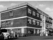 Bat'a Nemocnice,  Zlín . Bata Hospital, Zlin  c 1930