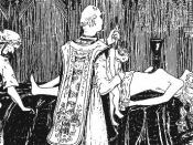 The Guibourg Mass by Henry de Malvost, in the book Le Satanisme et la Magie by Jules Bois, Paris, 1903.