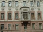 Nabokov House in Saint Petersburg where Nabokov was born and lived the first 18 years of his life