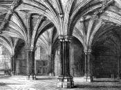 The crypt in 1884.