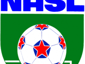 English: The logo of an American defunct football (soccer) league of North American Soccer League.