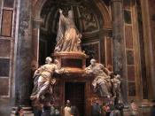 Tomb of Pope Benedict XIV, St. Peter's Basilica, Vatican